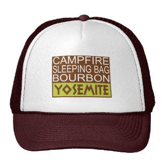 Campfire Sleeping Bag Bourbon Yosemite Cap