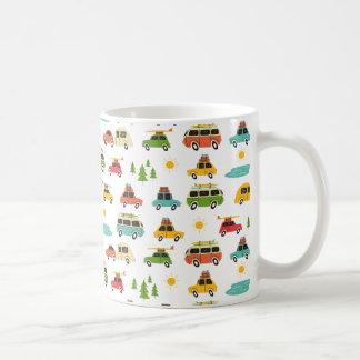 Camping Adventure Caravan Coffee Mug