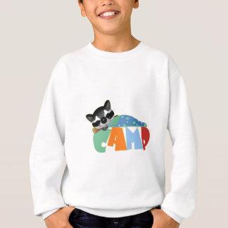 Camping Racoon Sweatshirt