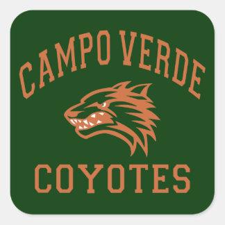 Campo Verde Coyotes Square Sticker