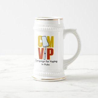 CAMVIP-Colour, Campaign for Vaping in Pubs Beer Steins
