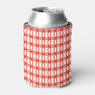 Can/Bottle Coolder - Interlocking Red Rings Can Cooler