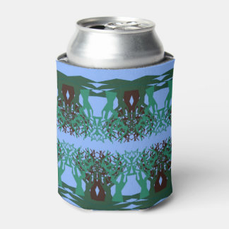 Can Cooler with Fractal Trees Design