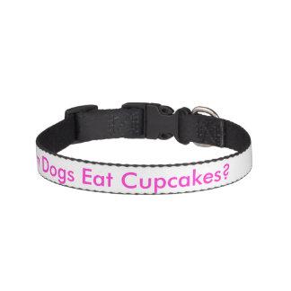 Can dogs eat cupcakes? pet collar