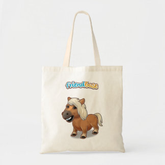 Can vase bag with pet horse