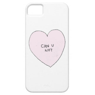 Can you Not: Brandy Melville Inspired Barely There iPhone 5 Case