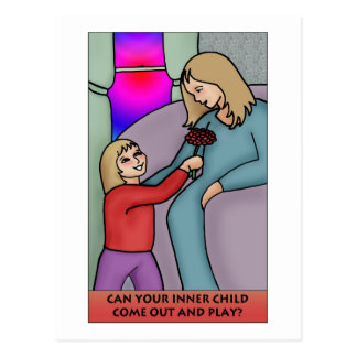 Can Your Inner Child Come Out and Play? Postcard