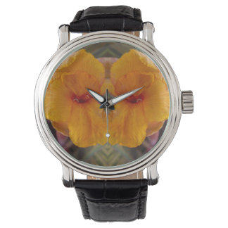 Cana Flowers Mirror Watch