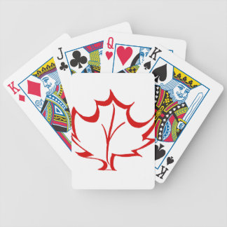 canada10 bicycle playing cards