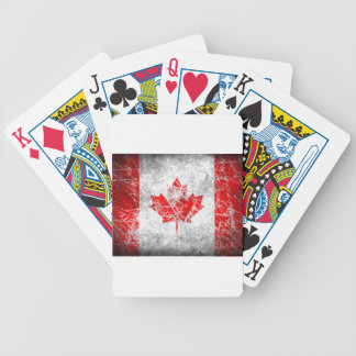 canada2 bicycle playing cards