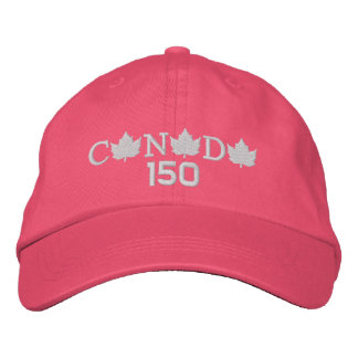 Canada 150 Pink Baseball Cap