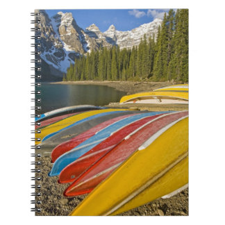 Canada, Alberta, Banff National Park, Moraine Notebook