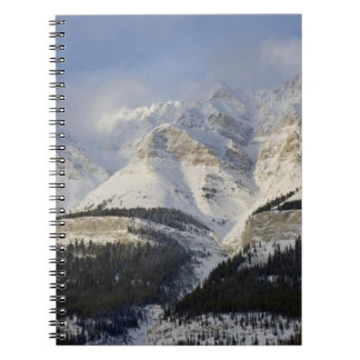Canada, Alberta, Banff National Park. View of Spiral Note Book