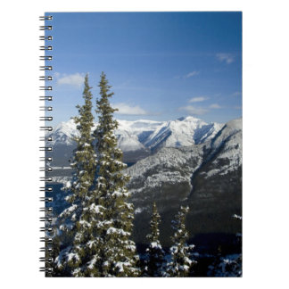 Canada, Alberta, Banff. Views of the Bow Valley Spiral Notebooks