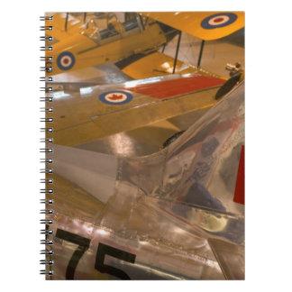 Canada, Alberta, Calgary: Aero Space Museum of Notebooks