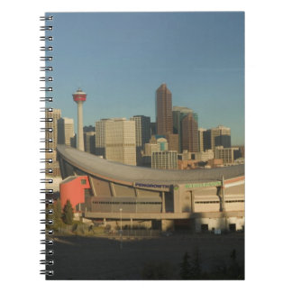 Canada, Alberta, Calgary: City Skyline from 3 Spiral Note Book