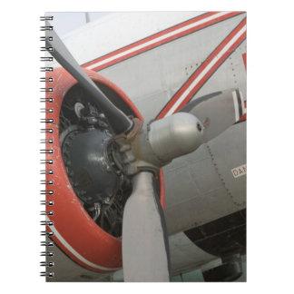 Canada, Alberta, Edmonton: Alberta Aviation Spiral Notebook