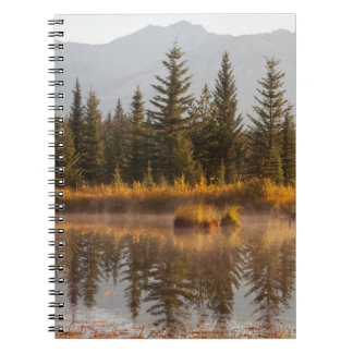 Canada, Alberta, Jasper National Park Spiral Notebook
