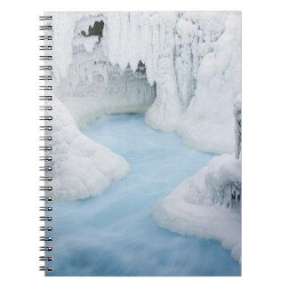 Canada, Alberta, Jasper National Park. The Spiral Notebook