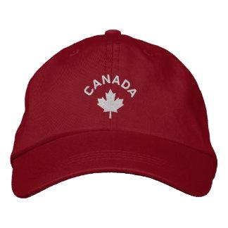 Canada Cap - White Maple Leaf Hat Embroidered Baseball Caps