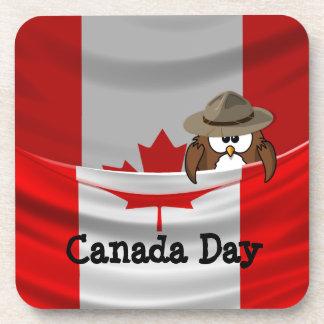 Canada Day Coaster