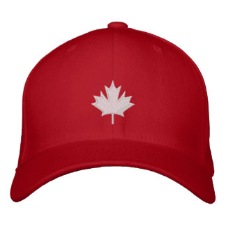Canada Embroidered Cap