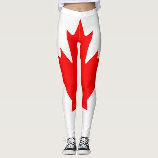 Canada Flag full Leggings