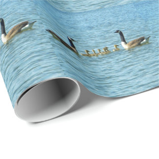 Canada Geese Proud Parents Wrapping Paper