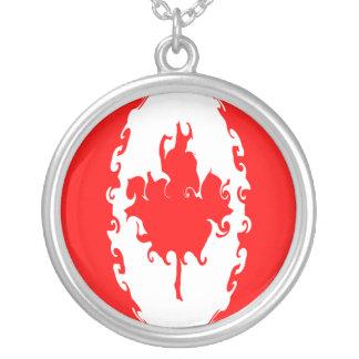 Canada Gnarly Flag Pendant