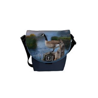 CANADA GOOSE ON THE SHASTA MESSENGER BAGS