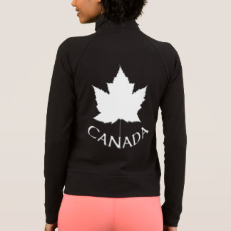 Canada Jacket Women's Canada Flag Souvenir Jacket