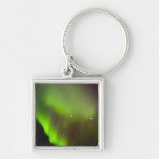 Canada, Manitoba, Churchill. Aurora Borealis in Key Ring