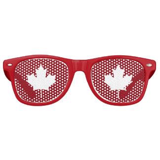 Canada Maple Leaf Party Shades