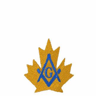 Canada Masonic Custom Embroidered Polo Shirt