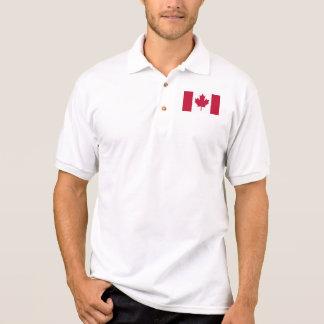 Canada Men's Gildan Jersey Polo Shirt