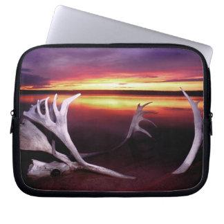 Canada, Northwest Territories, Whitefish Lake. Laptop Sleeve
