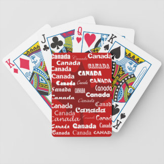 Canada Playing Cards - Red
