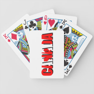 CANADA PRODUCTS BICYCLE PLAYING CARDS