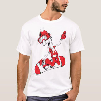 Canada Proud Snow Boarder 1 T-Shirt