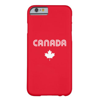 Canada Retro Barely There iPhone 6 Case