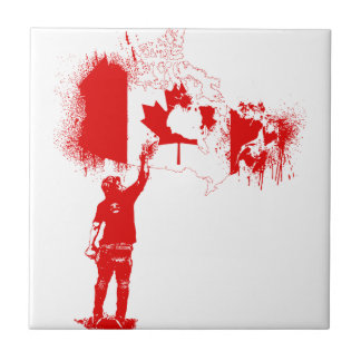 Canada Tagger Red Tiles