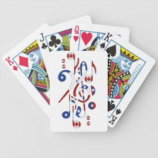 Canada & USA Playing Cards