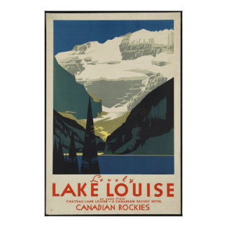Canada Vintage Travel Poster Ad Retro Prints
