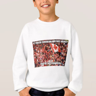 Canada's game sweatshirt