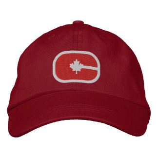 Canadian C Embroidered Hats