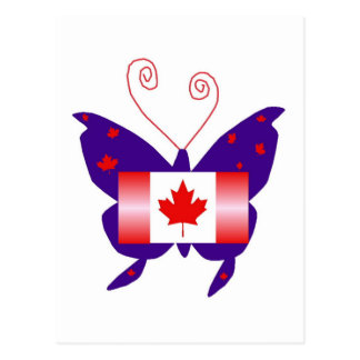 Canadian Diva Butterfly Postcards