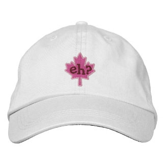 Canadian Eh? Embroidery Maple Leaf Embroidered Baseball Caps
