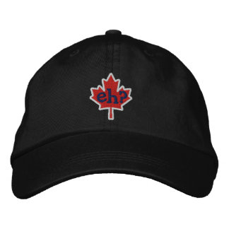Canadian Eh? Embroidery Maple Leaf Embroidered Hat