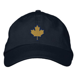 Canadian Embroidery Embroidered Maple Leaf Embroidered Cap