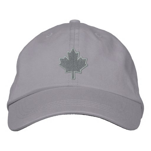 Canadian Embroidery Embroidered Maple Leaf Embroidered Baseball Caps